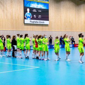 Sporthalle Stighag (Kloten), 06.03.2021, Unihockey Damen NLA, Kloten-Dietlikon Jets - UHC Laupen ZH,   (Fabrice Duc, www.fabriceduc.ch)